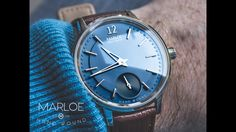 The Cherwell, a hand-wound watch from Marloe Watch Co. inspired by the beautiful university city of Oxford.