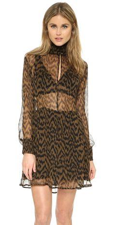 Ganni Lewis Chiffon Dress