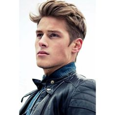 Best Mens Hairstyles 2015 ❤ liked on Polyvore featuring men's fashion