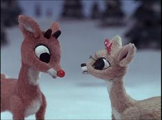 """""""Rudolph the Red-Nosed Reindeer,"""" a film by Kizo Nagashima and Larry Roemer 1964"""