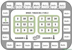 Juegos de matemáticas para imprimir - Web del maestro Calculator, Education, School, Bar Graphs, Indoor Games, Math Resources, Onderwijs, Learning