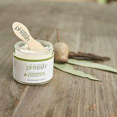 Honestly pHresh Cedarwood and Eucalyptus Deodorant Cream$13