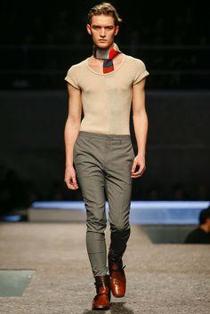 Prada Fall 2014 Menswear Fashion Show Collection