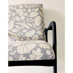 skinny laminx winter grey leaves fabric