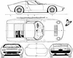 Lamborghini Miura P400 (1967)