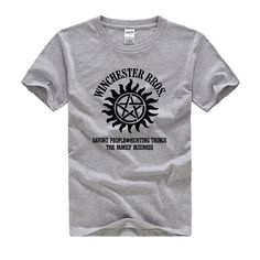 "Supernatural Winchester ""Family Business"" Shirt"