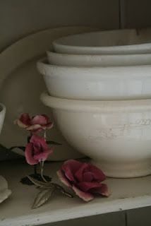 Ironstone...I have one Ironstone bowl that is over seventy years old and I still use it regularly.