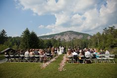 Mountain Rustic Wedding Ceremony