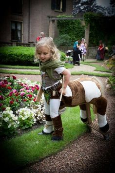 Centaur costume 4 yo girl