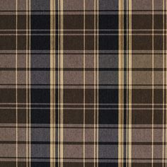 The K6918 ESPRESSO PLAID upholstery fabric by KOVI Fabrics features Country or Lodge or Cabin, Plaid or Gingham pattern and Beige or Tan or Taupe, Brown, Dark Blue as its colors. It is a Damask or Jacquard type of upholstery fabric and it is made of 52% Polyester, 48% Cotton material. It is rated Exceeds 100,000 Double Rubs (Heavy Duty) which makes this upholstery fabric ideal for residential, commercial and hospitality upholstery projects. This upholstery fabric is 54 inches wide /800-8603105 Fabric Ottoman, Tapestry Fabric, Ticking Fabric, Chenille Fabric, Tartan Fabric, Suede Fabric, Fabric Textures, Fabric Patterns, Fabric Birds