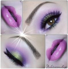 55+ Best Ideas For Nails Purple Pink Makeup Tutorials