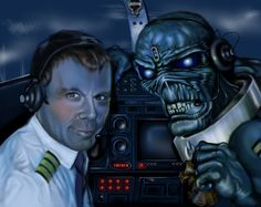 iron maiden artwork | And if you still don't know who eddie is, please see the picture below ...