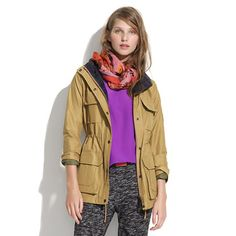 Massachusetts-based Penfield has been churning out top-notch, weather-resistant outerwear—coveted by fans of heritage-style clothing and outdoor enthusiasts alike—since 1975. This superwarm parka is perfect for woodsy walks and urban strolls and has a checkerboard-plaid lining that can be found here and only here. <ul><li>Loose fit.</li><li>Cotton/nylon.</li><li>Dry clean.</li><li>Import.</li></ul>