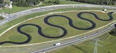 De Wendel tussen  Almelo en Wierden aan de westkant van het Twentekanaal