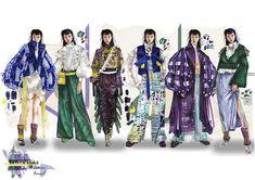Fashion Design Sketchbook, Fashion Design Portfolio, Fashion Sketches, Dress Sketches, Drawing Fashion, Fashion Illustration Collage, Pleated Fabric, Fashion Figures, Women Wear