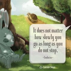 A great little thought to remember as you are working on your Career Step course!