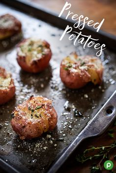 Pressed for time and need another delicious side? Try this Publix recipe for Pressed Potatoes. It's perfect when you want less cooking time and more family time around Thanksgiving. Place heated baby red potatoes on a baking sheet. Press lightly with a potato masher. Drizzle with olive oil. Season with a little salt, pepper, and herbs. Bake until the edges are browned and crispy. Then, sprinkle with cheese and enjoy!