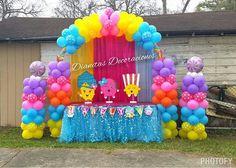 Shopkins balloon  Arco de globoss