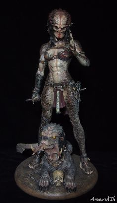 Predator Cosplay, Predator Costume, Aliens, Predator Art, Predator Action Figures, Sience Fiction, Female Monster, Giger Art, Arte Hip Hop