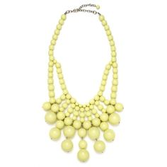 Butter Bauble Bib ($36) ❤ liked on Polyvore