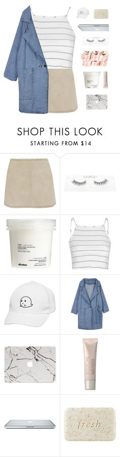 """""""I DON'T LIKE TO THINK BUT I PONDER YOU"""" by thenewgirl3 ❤ liked on Polyvore featuring KaufmanFranco, Davines, Glamorous, Laura Mercier, Fresh and hangotatopset"""
