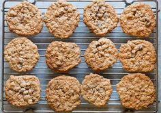Best Oatmeal Raisin Cookies EVER! Just the way grandma made them, with old fashioned rolled oats, brown sugar, and plenty of raisins. On SimplyRecipes.com