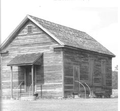 The original Bostick School in Richmond County, NC. This photo is circa 1890s! A must-see for history buffs!