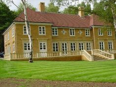 Our hardwood windows, french doors and round windows add character to this new build property Timber Windows, Casement Windows, Round Windows, New Builds, Surrey, Joinery, Hampshire, French Doors, Hardwood