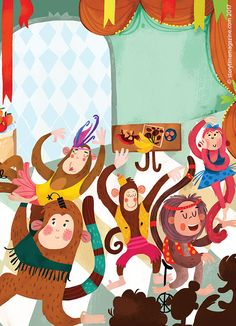 It's monkey mayhem in Storytime Issue 33 in our latest funny fable, illustrated by Zhanna Mendel (https://www.behance.net/ovocheva)! Subscribe today at ~ STORYTIMEMAGAZINE.COM