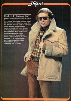 Vintage Men's Fashion Ad by retro-space, via Flickr  So suave!