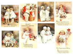 Vintage Clapsaddle Christmas Children and Babies by phenomenon1859, $2.75