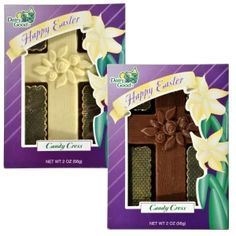 Dairy Good Easter Chocolate Crosses, 2 oz. Best Candy, Easter Chocolate, Dollar Tree Store, Jesus On The Cross, Chocolate Flavors, Easter Baskets, Crosses, Travel Size Products, Safe Food