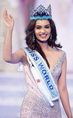 A medical student from India is the next Miss World. The last Miss World from India was Priyanka Chopra in 2000 Miss Mundo, World Winner, Miss Univers, Miss India, Miss World, Beauty Pageant, Beauty Full Girl, Bollywood Celebrities, Priyanka Chopra