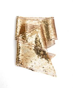 do gold sequin scarf Glamour Party, Mermaid Sequin, All That Glitters, Wedding Jewelry, Sequins, My Style, Unique Jewelry, Gold Scarf, Hannah Montana