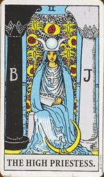 #TheHighPriestess this focus of this card is on Waiting, learning, trade, finance and negotiations, public activities or public relations. #TarotCardoftheMonth