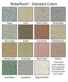 HardRock Roll-On Stone Coating- for the deck? Concrete Patios, Concrete Steps, Concrete Floors, Diy Concrete, Concrete Staining, Stained Concrete, Mobile Home Skirting, Deck Colors, Concrete Coatings