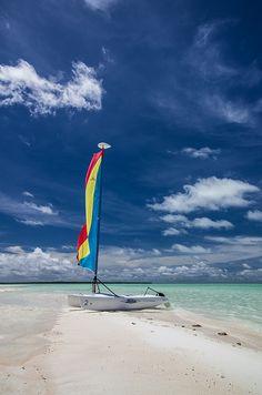"Cocos Islands ""Im sailing away..."""