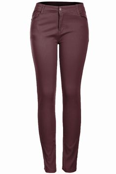 Trendy Skinny 5 Pocket Stretch Uniform Pants