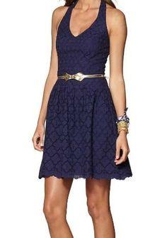 Lilly Pulitzer Ross Halter Dress