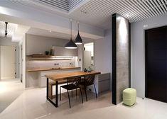 Urban Apartment in Taichung by Mole Design