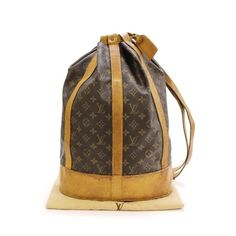 Louis Vuitton Randonnee GM Monogram Shoulder bags Brown Canvas M42244