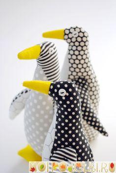 Пингвин - мягкая игрушка своими руками