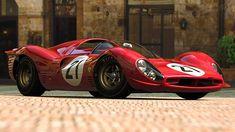 Ferrari 330 p4 - dramatic lines.