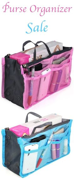 Purse Organizer Sale: $3.58 + FREE Shipping!!  {such a simple trick for organizing your purses!}