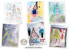 Faire illustrer un texte sur la tour Eiffel, et favoriser l'inspiration ...