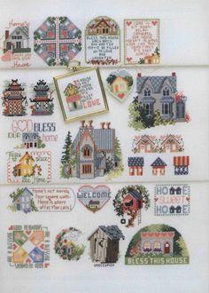Gallery.ru / Фото #109 - 501 Cross Stitch Designs by Sam Hawkins - OlgaHS