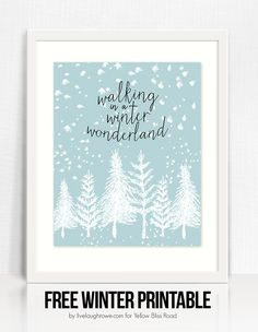 Winter Wonderland Printable by Live Laugh Rowe (1)