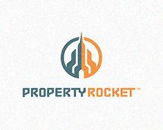 PropertyRocket by Mike Erickson #logo #design #inspiration