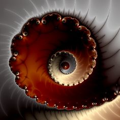 A Mandelbrot set spiral