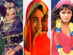 """So many Bollywood actors have pleasantly surprised and rudely shocked us with their on-screen female avatars. We list the top 15 """"beau""""ties."""
